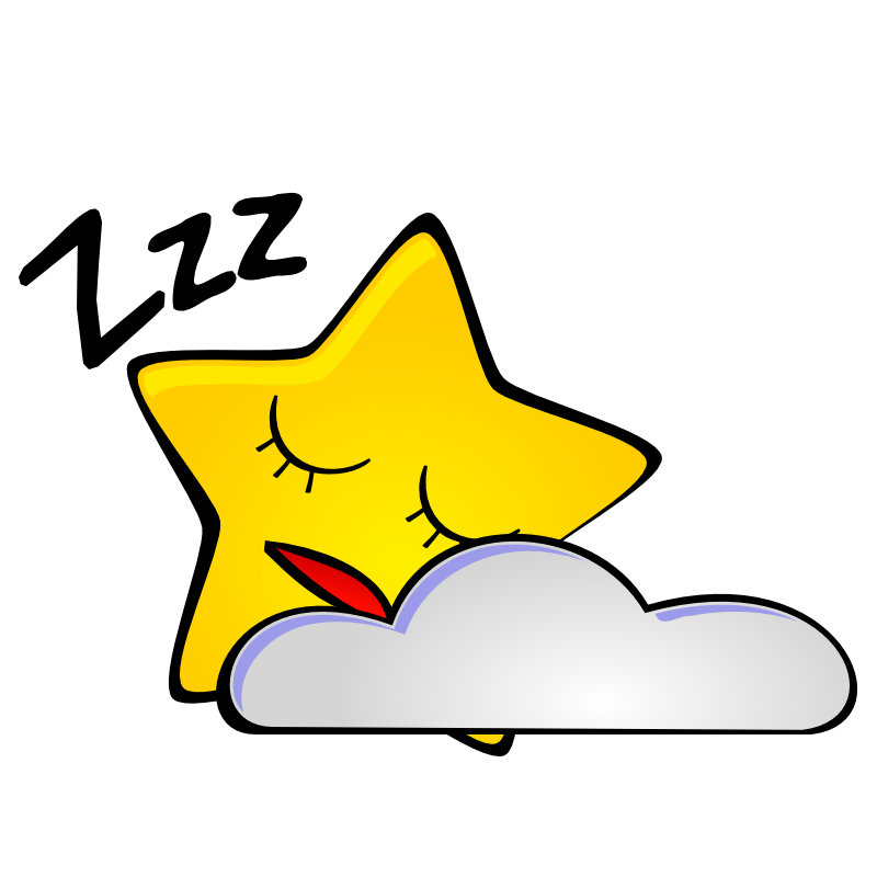 Mood Start Night Sky Clipart.