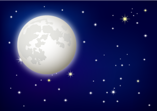Free Full Moon Clipart Image|Illustoon.