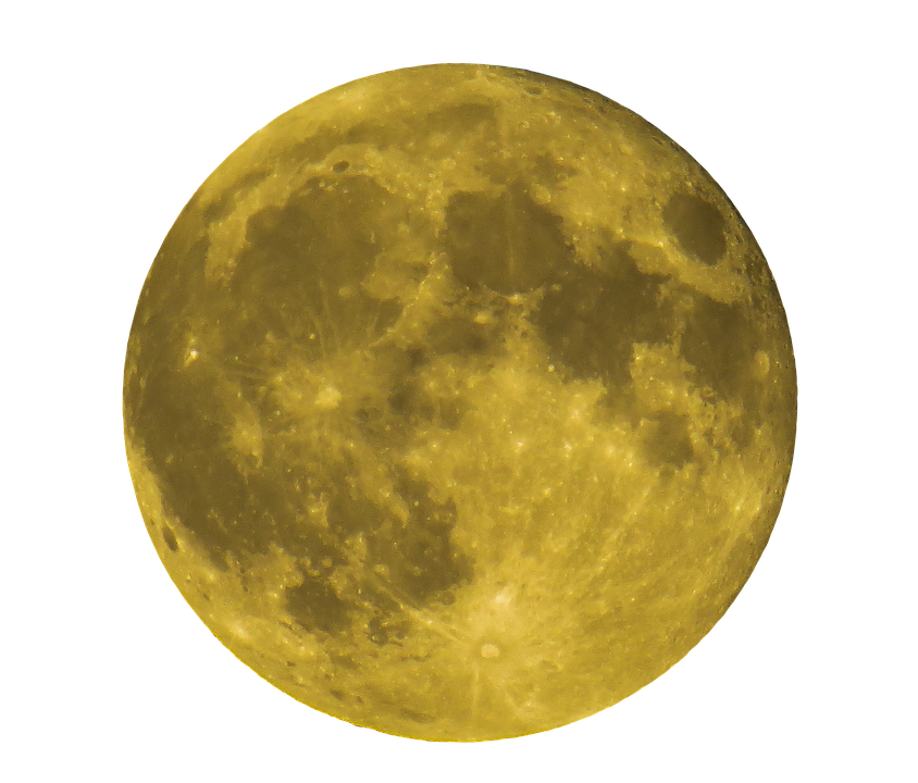 Moon PNG images free download.