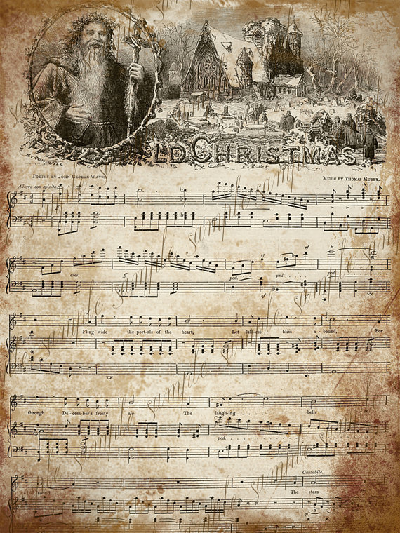 photo about Free Printable Vintage Christmas Sheet Music known as Evening tunes clipart 20 no cost Cliparts Obtain photographs upon