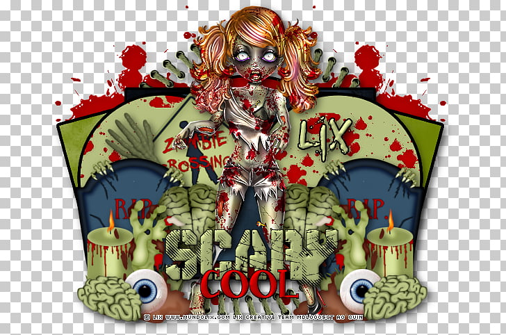 Cartoon Tree, Night Of The Living Dead PNG clipart.