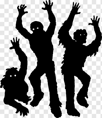 Night Of The Living Dead cutout PNG & clipart images.