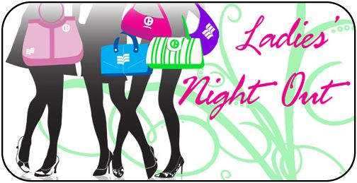 Clipart ladies night out.