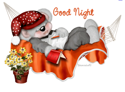 Good Night Rose Clipart.