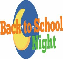 Back to school night clipart.