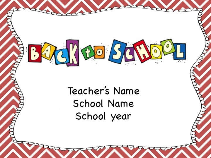School Clipart Back to School Night Clipart Gallery ~ Free Clipart.