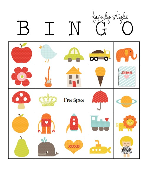 49 Printable Bingo Card Templates.