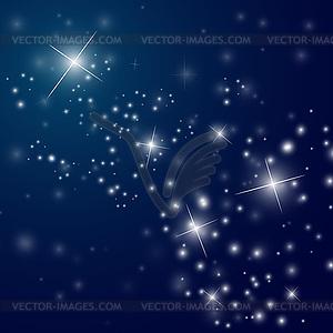 Night Sky Clipart.