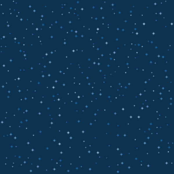 Night Sky With Stars And Moon Clipart.