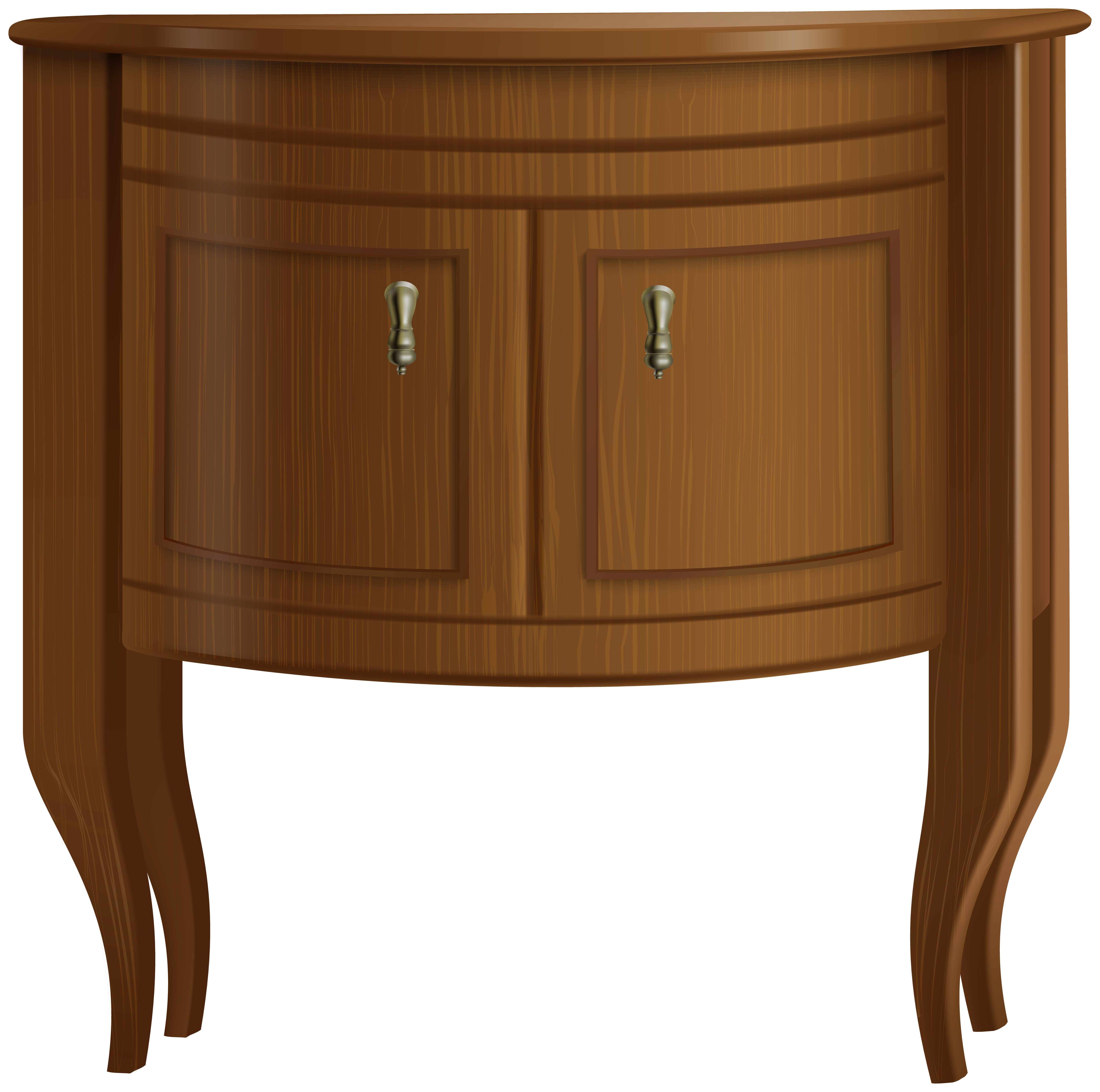 Night Stand Transparent PNG Clip Art Image.