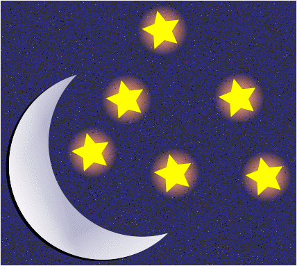 Night time clipart #14