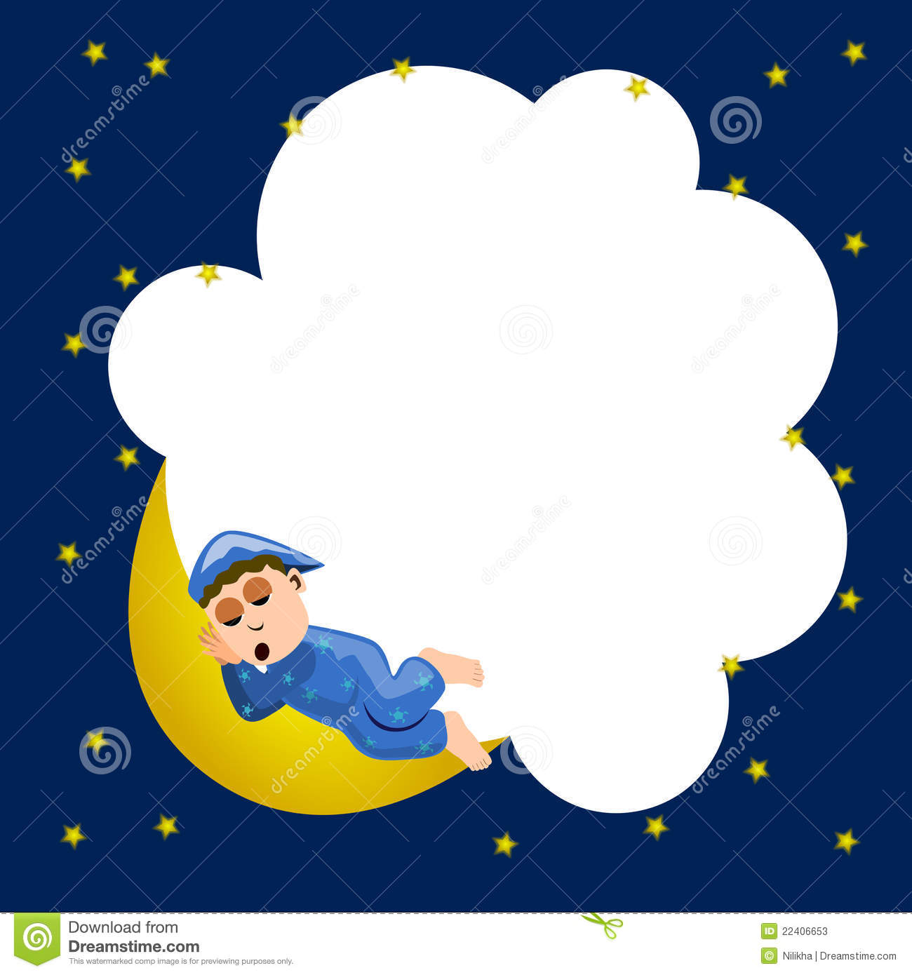 Night Time Clipart.