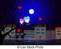 Nighttime Illustrations and Clipart. 2,060 Nighttime royalty free.