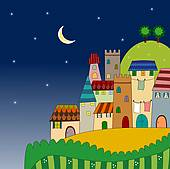 Night view Illustrations and Stock Art. 7,843 night view.