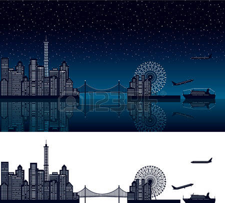 22,218 Night View Stock Illustrations, Cliparts And Royalty Free.