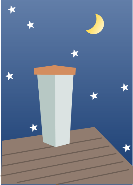 Beautiful Night Clipart, vector clip art online, royalty free.