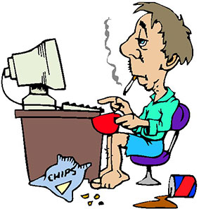 computer clipart cartoon #6