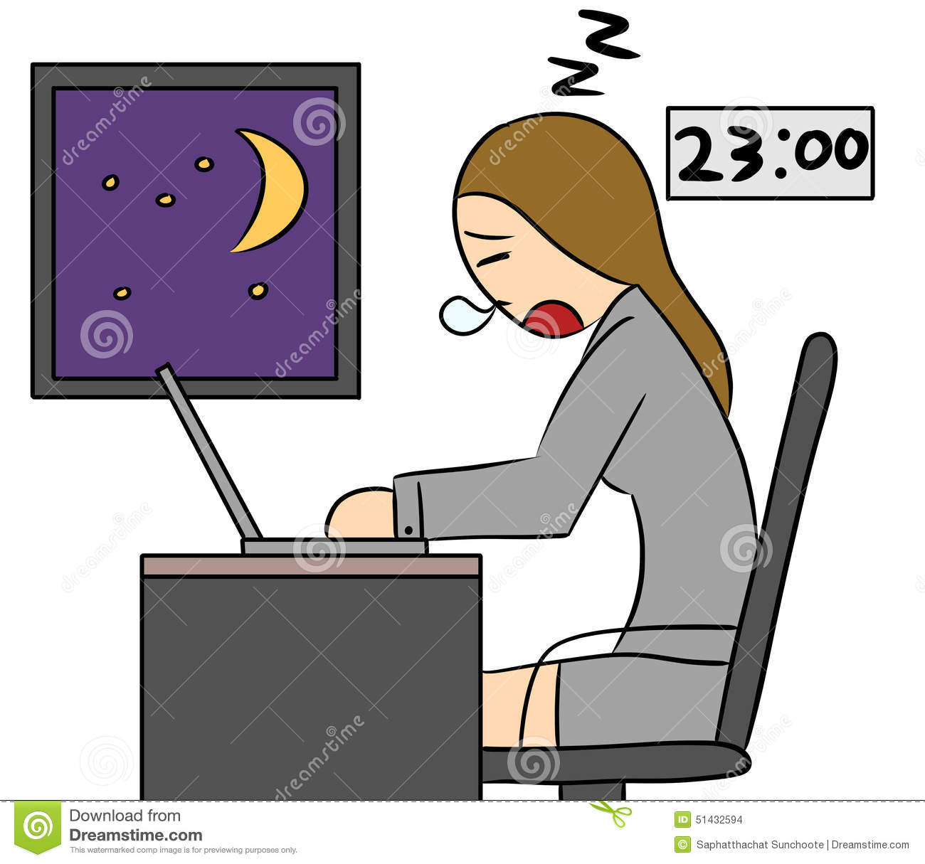 Showing post & media for Working late night cartoon.