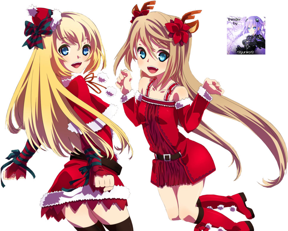 Anime Christmas Png Nightcore Christmas.