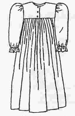 Nightgown Clipart.