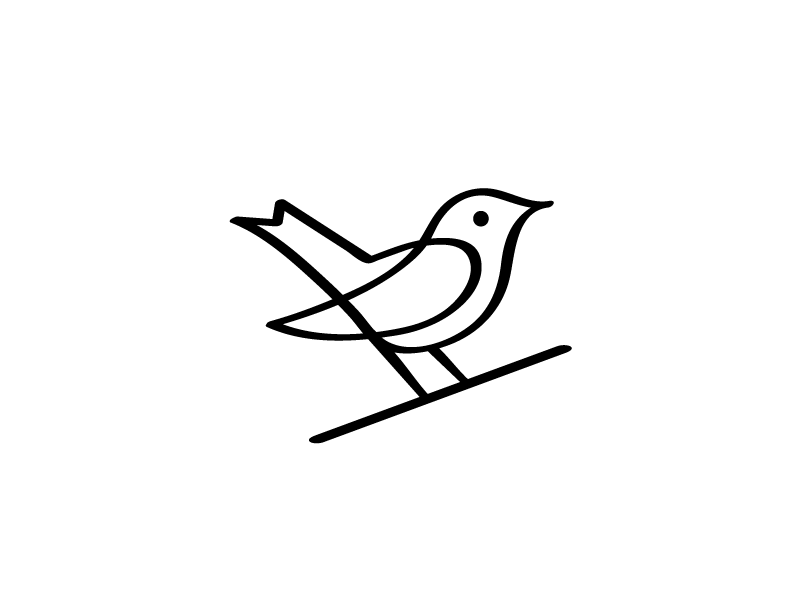 Nightingale Logo // For SALE by Bohdan Harbaruk on Dribbble.