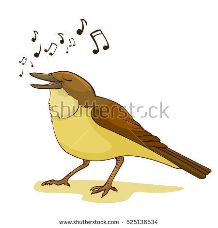 Singing Bird Stock Photos, Royalty.