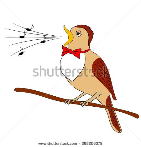 Showing post & media for Nightingale bird singing cartoon.