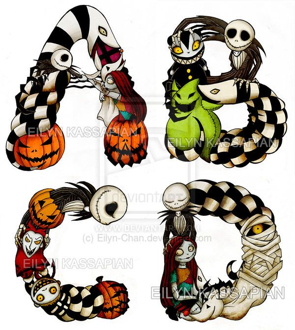 17 Best ideas about Nightmare Before Christmas Characters on.