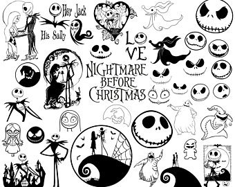 Nightmare before christmas clipart 4 » Clipart Portal.