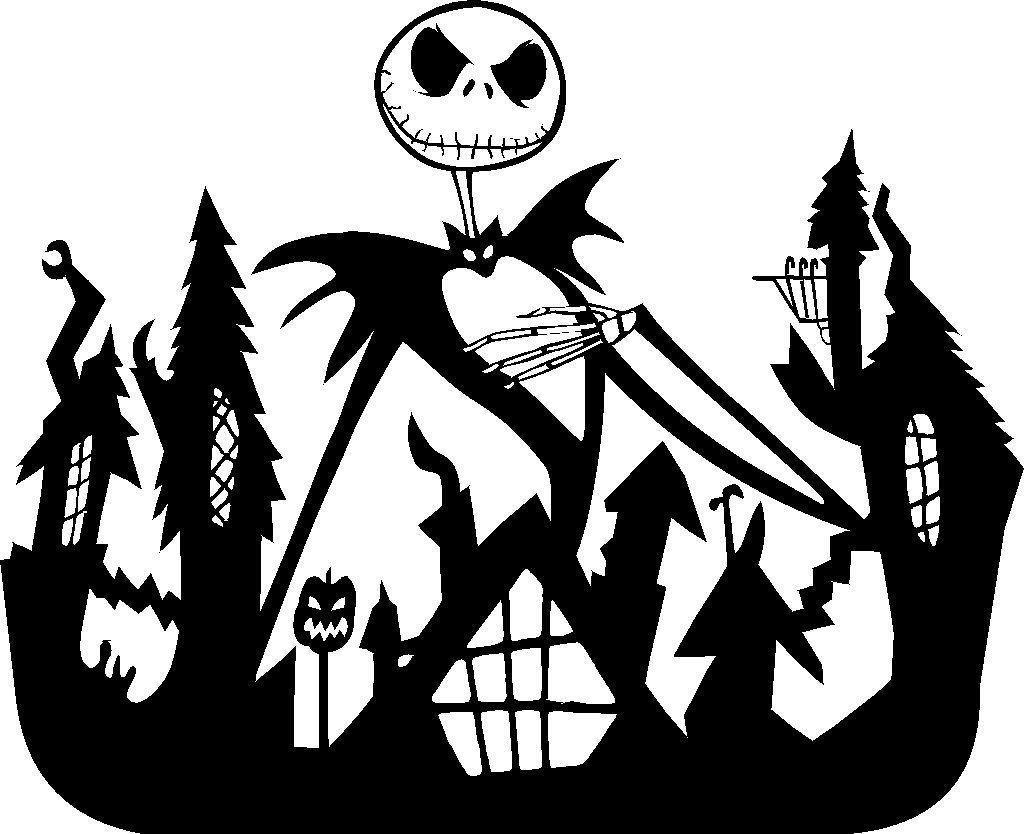 15 free nightmare before clipart silhouette download. All of.