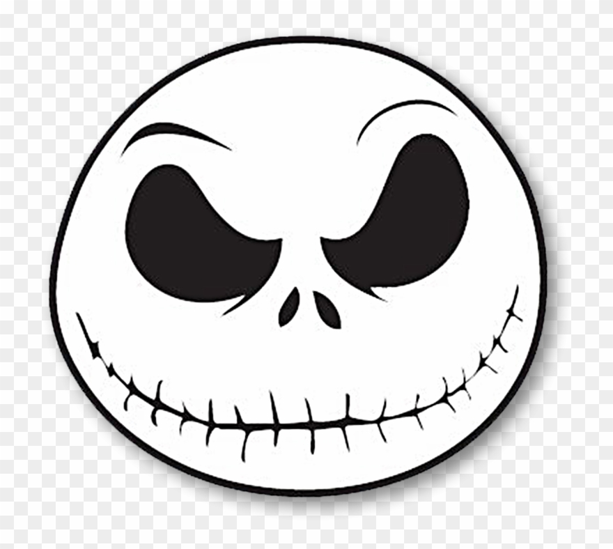 Jack From The Nightmare Before Christmas Clipart (#1488624.