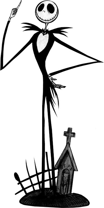 Nightmare Before Christmas Clipart.