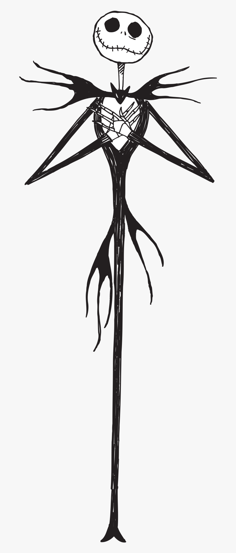 Nightmare Before Christmas Jack Clipart , Free Transparent.