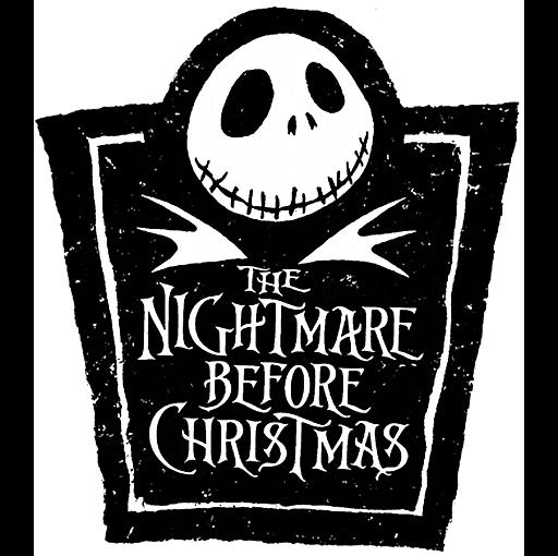 Nightmare before christmas Logos.