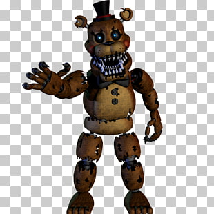 15 nightmare Bonnie PNG cliparts for free download.
