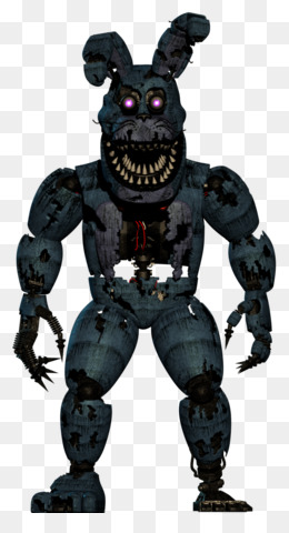 Nightmare Bonnie PNG and Nightmare Bonnie Transparent.