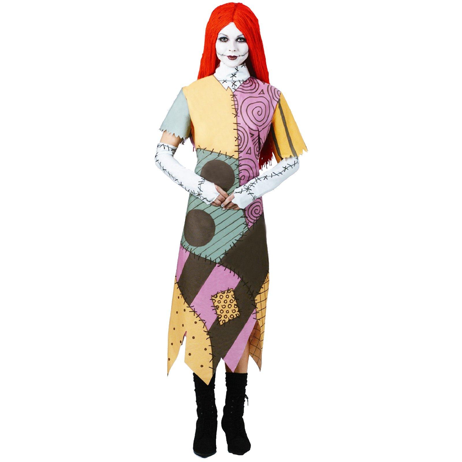 Nightmare Christmas Sally Dress Clipart.