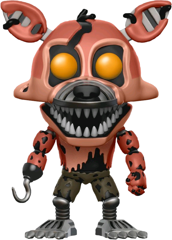 Nightmare Foxy Pop! Vinyl Figure Five Nights at Freddy's.