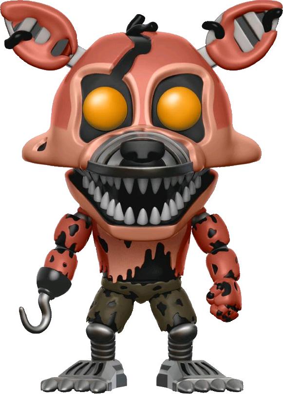 nightmare foxy clipart