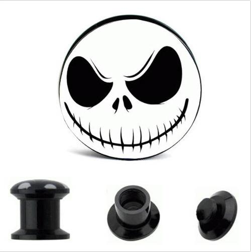 2019 Acrylic Nightmare Logo Ear Plugs Mix 8 Size Body Jewelry For Piercing  Earring Cuff Stud Fit Expander Stretcher From Bodyjewelrysales2, $17.34.