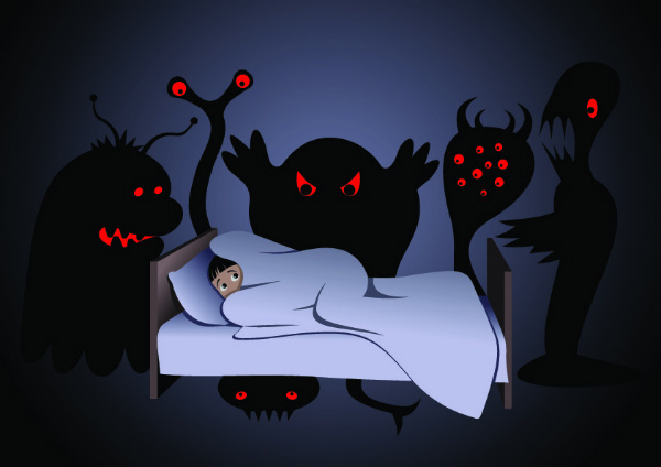 Bad dreams clipart.