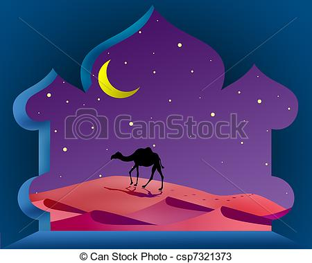 Arabian Nights Clipart.