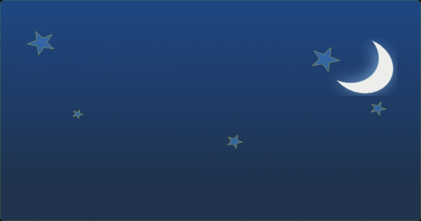 night sky with stars and moon clip art at clker vector clip40 PNG.