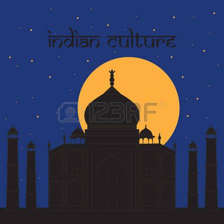 70 Taj Mahal Night Stock Vector Illustration And Royalty Free Taj.