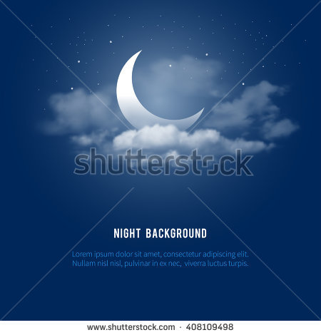 Night Sky Stock Images, Royalty.