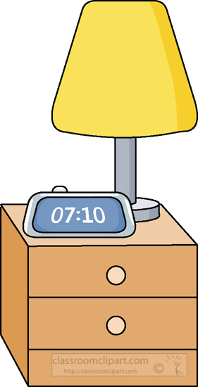 Clipart night stand.