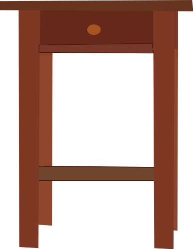 Free Nightstand Clipart, 1 page of Public Domain Clip Art.