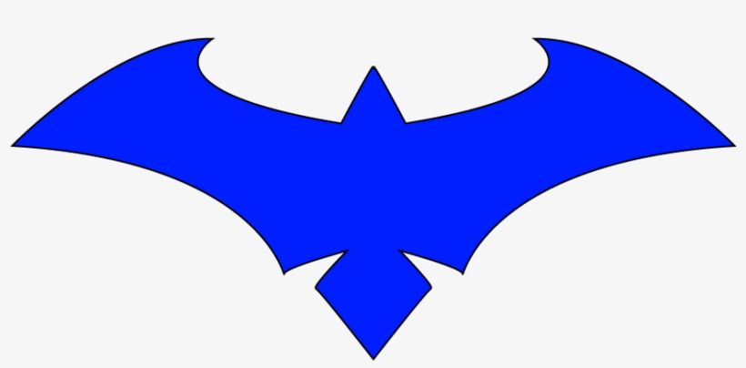 Nightwing Symbol Vector Winfield Logo Png Nightwing.
