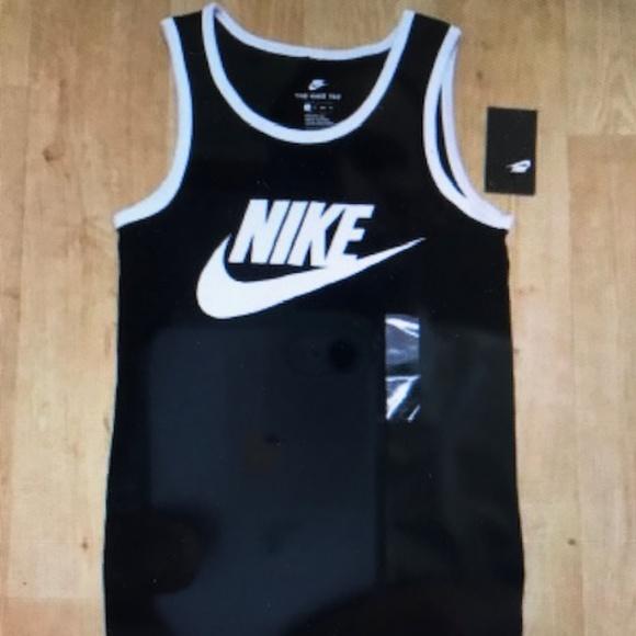 Nike Ace Logo Tank New Black XS NWT.