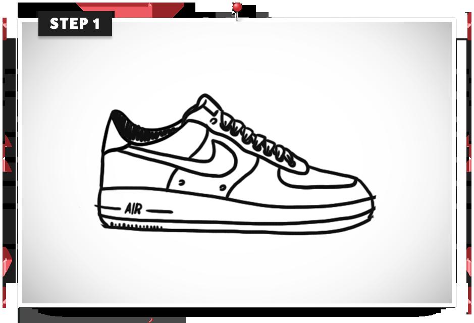 Musketon ? Tutorial: Create Nike Air Force.